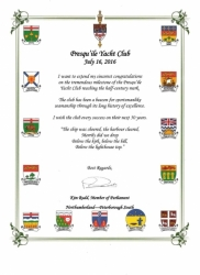 50th RS greetings from Kim Rudd MP