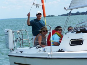 Great Day for aSail, Community Living Sail Day